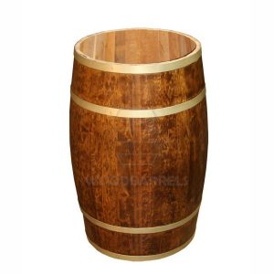 Wooden Display Barrels